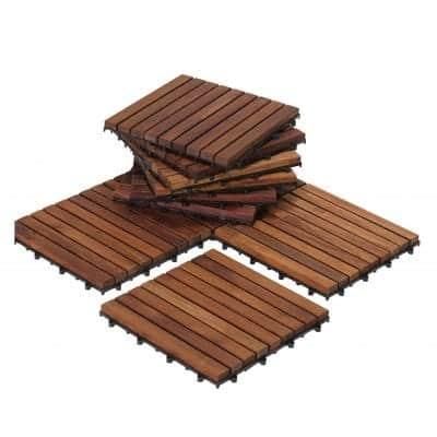 Bare Décor EZ-Floor Interlocking Floor Tiles