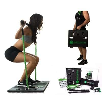 BodyBoss 2.0 Full Portable Home Gym Resistance Bands