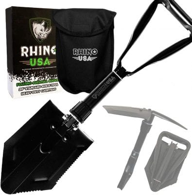Rhino USA Inc. Folding Survival Shovel