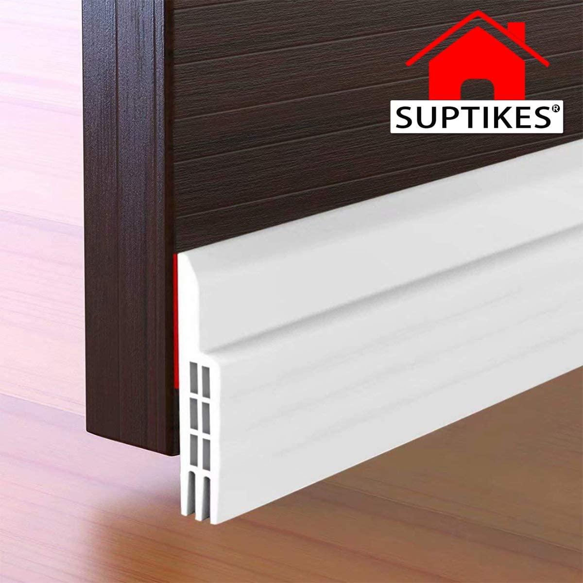 Suptikes Door Draft Stopper Under Door Seal