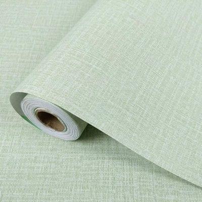 Yancorp Faux Grasscloth Peel Stick Wallpaper