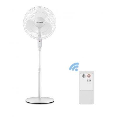 PELONIS 16 Inches 3-Speed Oscillating Pedestal Fan