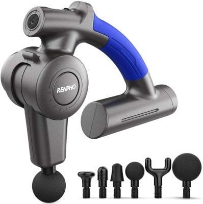 RENPHO Massage Gun with Adjustable Arm