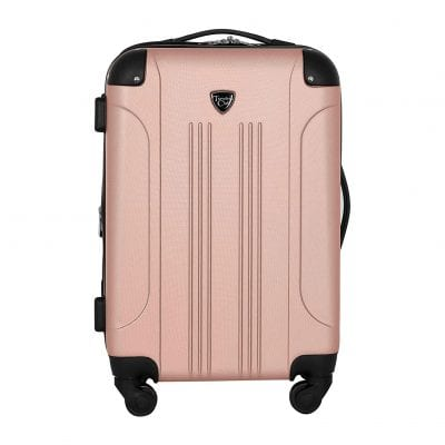 Travelers Club Rose Gold Luggage