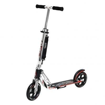 HUDORA Adult Folding Kick Adjustable Bar Electric Scooter