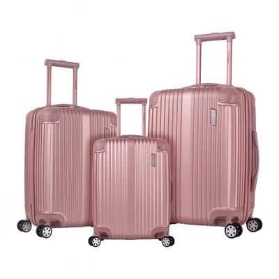 Rockland Berlin Hardship Spinner Wheel Luggage Set