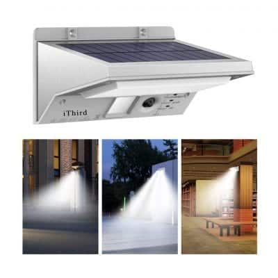 iThird Solar Lights Outdoor Motion Sensor