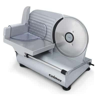 CUSIMAX Meat Slicer with Stainless Steel Blade