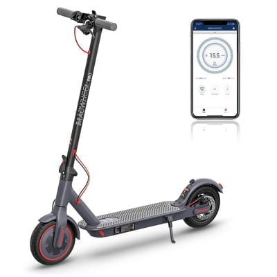 Macwheel 8.5 Inches Non-Pneumatic Wheels Foldable Electric Scooter
