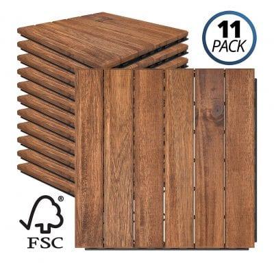 Mammoth Easy Lock Sustainably Pack 11 Outdoor Floorings
