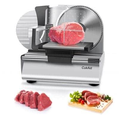 CukAid Electric Meat Slicer Machine