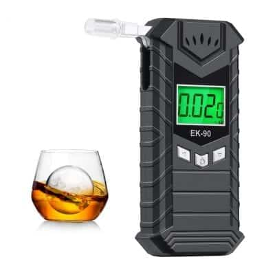JASTEK Breathalyzer, Professional Breath Alcohol Tester