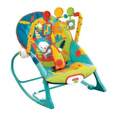 Fisher-Price Circus Celebration Infant-to-Toddler Rocker