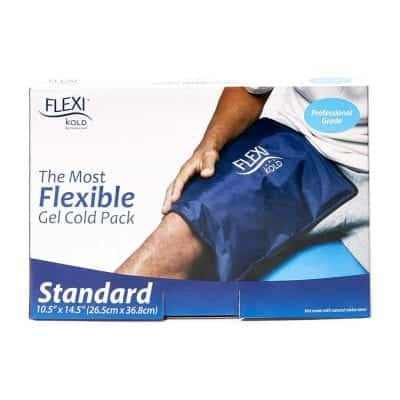 FlexiKold Gel Ice Pack Reusable Cold Pack for Pain and Injuries