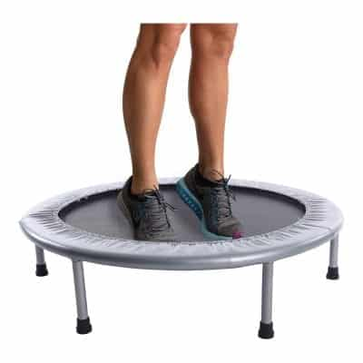 Stamina 36 Inches Folding Trampoline 250lbs Safe Bounce