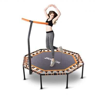 RedSwing Mini Trampoline 270lbs Exercise Trampoline