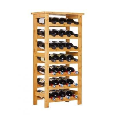 VIAGOO Bottles Bamboo Wine Rack
