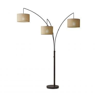 Adesso Trinity Arc Floor Lamp
