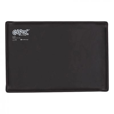 Chattanooga ColPac 12.5 in x 18.5 in Black Polyurethane