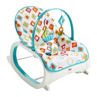 Fisher-Price Toddler Infant Geo Diamonds Rocker