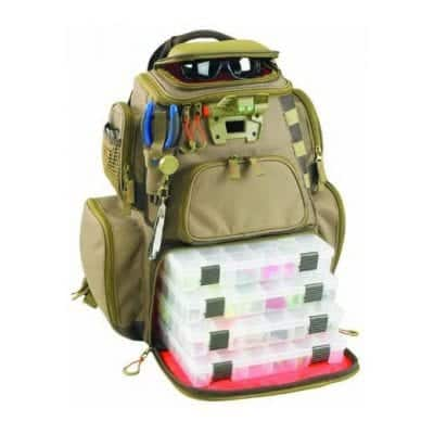 Wild River by CLC WT3604 Tackle Tec Nomad Lighted Backpack
