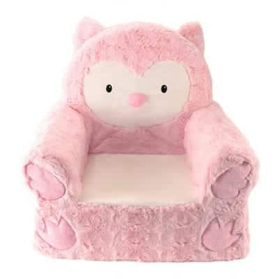 Animal Adventure Sweat Seats Pink Owl Seat