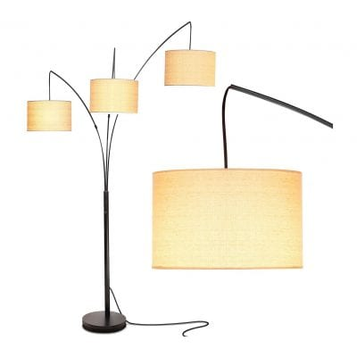 Brightech Trilage Arc Floor Lamp