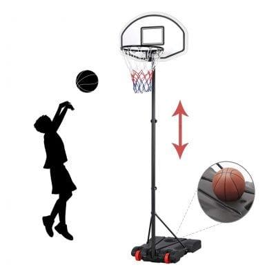 YAHEETECH Kids Portable Kids Basketball Hoop System