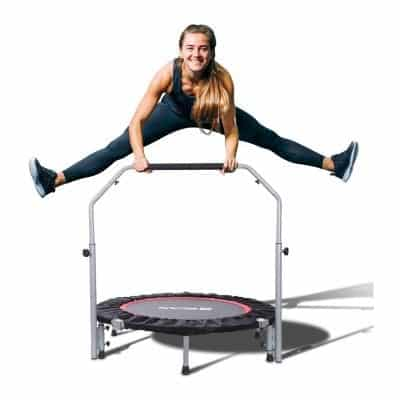 BCAN 40 Inches Foldable Mini 330lbs Exercise Trampoline