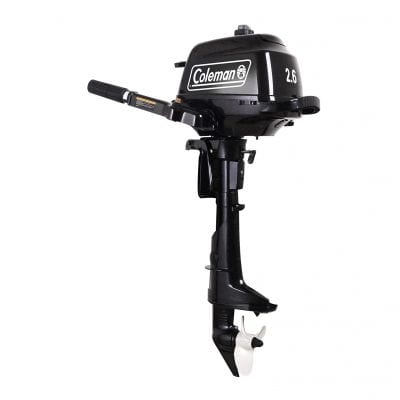 Coleman Powersports 2.6HP Outboard Motor Boat Engine
