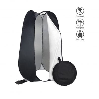 PARTYSAVING 6 FT Portable Outdoor Pop-up changing Tent
