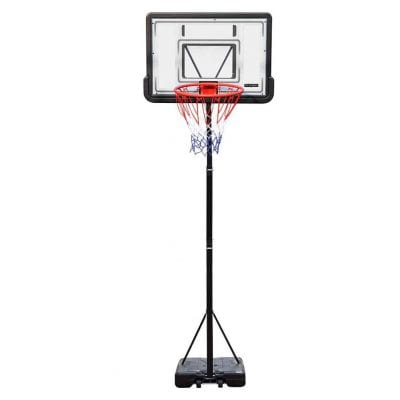 PXEMOR Portable Basketball Hoop 5.9 to 10Ft Adjustable Height