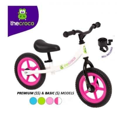 TheCroco Lightweight Balance Bike for Kids
