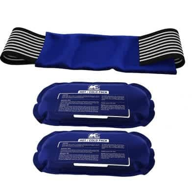 TrekProof 2-Piece Set Ice Pack for Knees, Back and Rotator Cuff