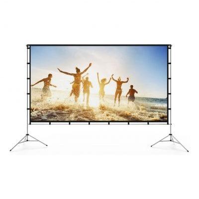Vamvo Outdoor Indoor Projector Screen