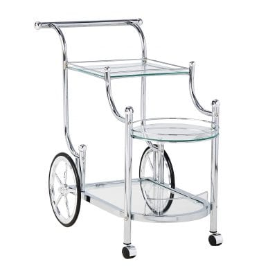 Coaster Home Furnishings Wheeled Serving Cart