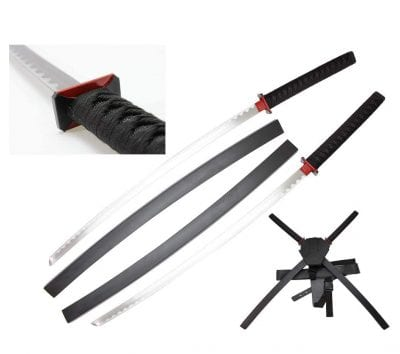 Ninja Sword 42 Inches Set Harness & Belt Attachment