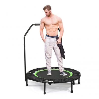 ANCHEER Foldable 40 Inches Mini Trampoline 300lbs Rebounder