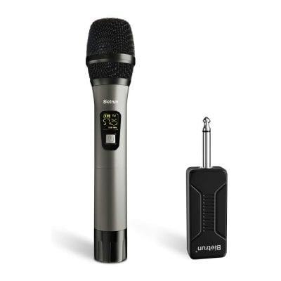 Wireless Microphone, UHF Handheld Karaoke Mic