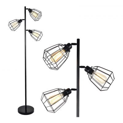 LEONLITE Track Tree Floor Lamp
