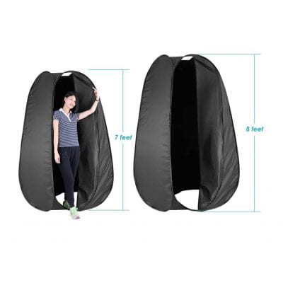 Neewer Outdoor Pop Up Changing Dressing Tent