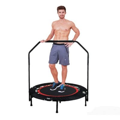 Shaofu 40 Rebounder Foldable 300lbs Exercise Trampoline