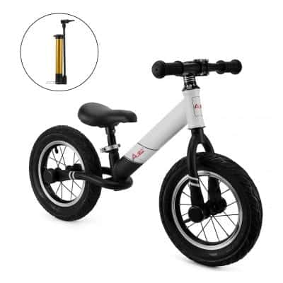 AODI 12 inches Sports Balance Bike, Air-Filled Rubber Tires