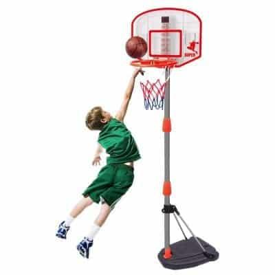 Alacritua Basketball Hoop Backboard Adjustable Hoop Basketball Stand