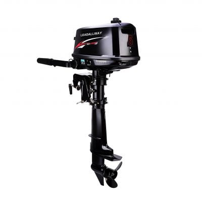LEADLLWAY 6.0HP 2 Stroke Water Cooled Boat Power Engine