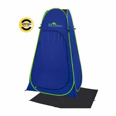 MountRhino 6.9ft UV Protection Changing Shower Tent