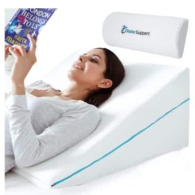 RELAX SUPPORT Wedge Pillow 3-In-1 Wedges Adjustable Pillow