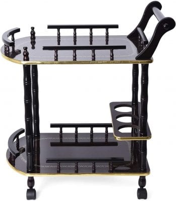 Shop LC Delivering Joy Cart 2-Tier Rolling Cart with Wheels