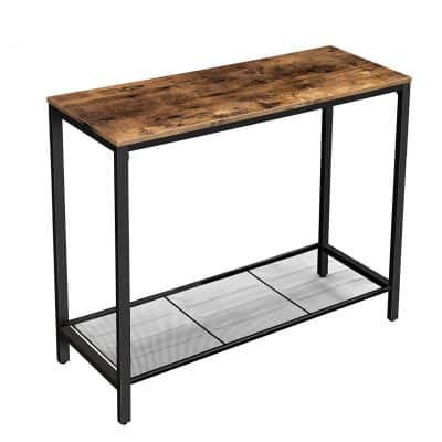 VASAGLE Industrial Console Living Room Table