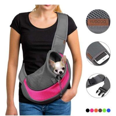 YUDODO Pet Dog Sling Carrier Sling Bag Carrier